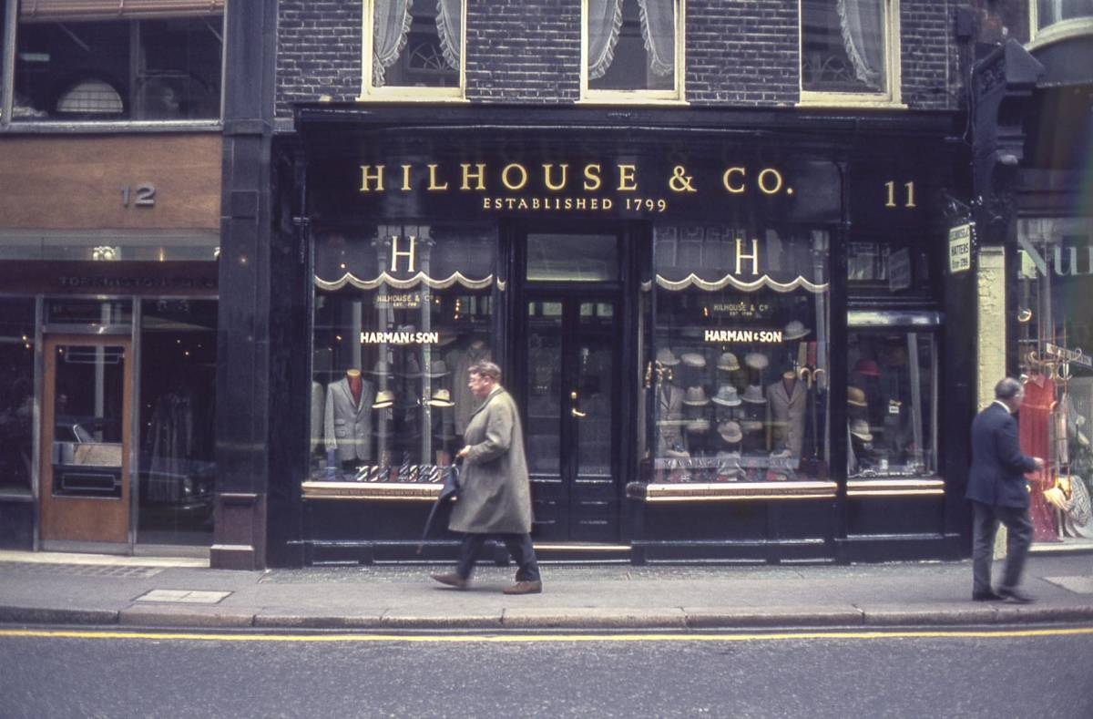 London Hilhouse & Company New Bond Street © Iris Editha Schacht