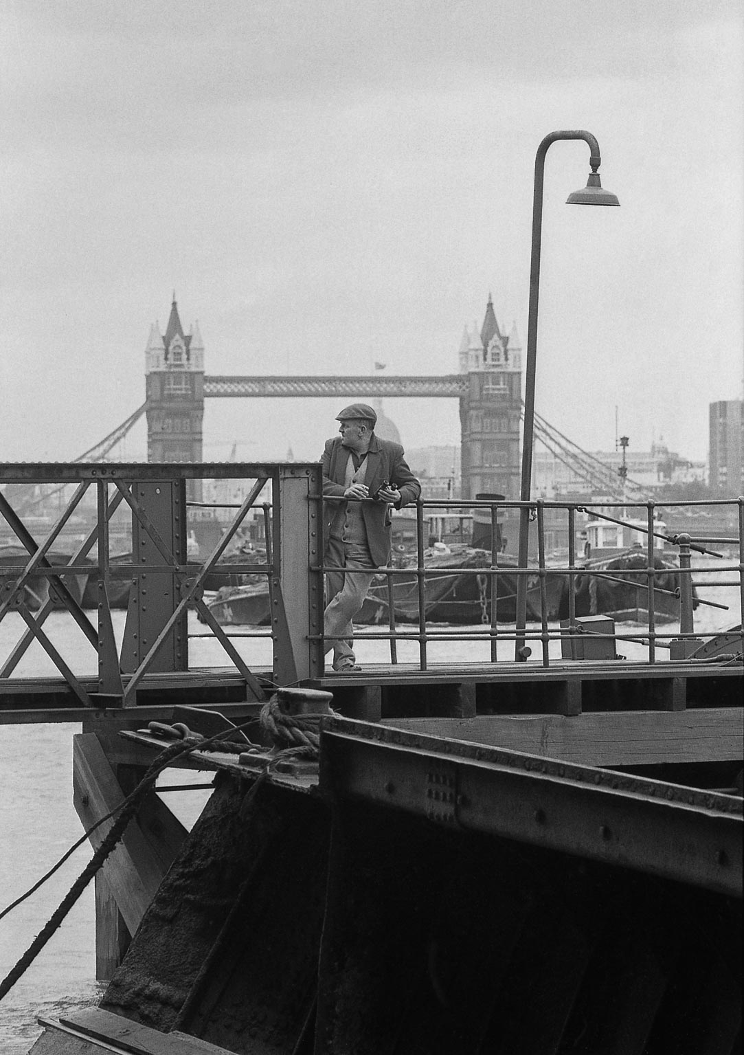 London Tower Bridge 1971 © Iris Editha Schacht