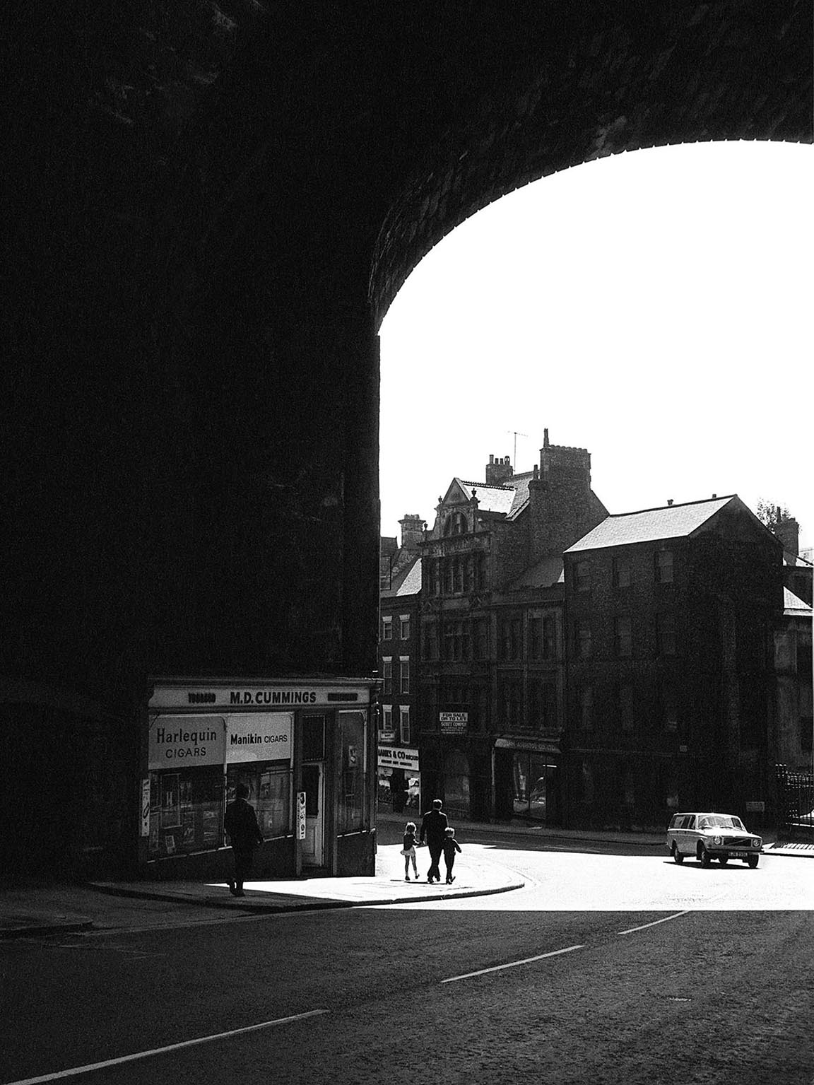 Newcastle upon Tyne 1971 © Iris Editha Schacht